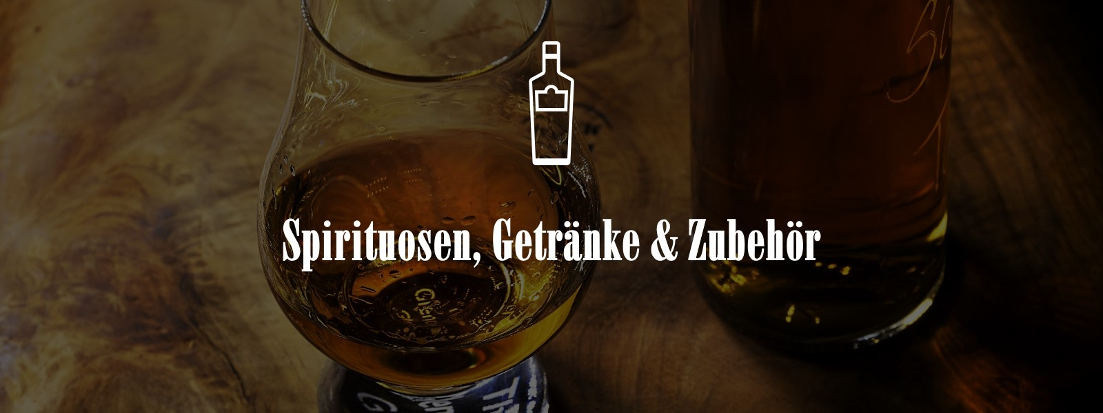 Spirituosen, Getränke und Zubehör