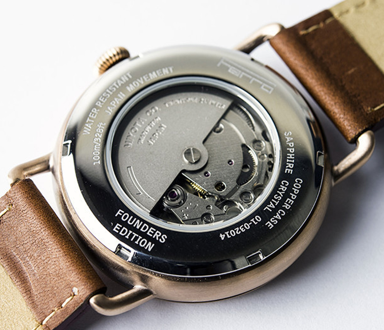 Ferro Watch Copper