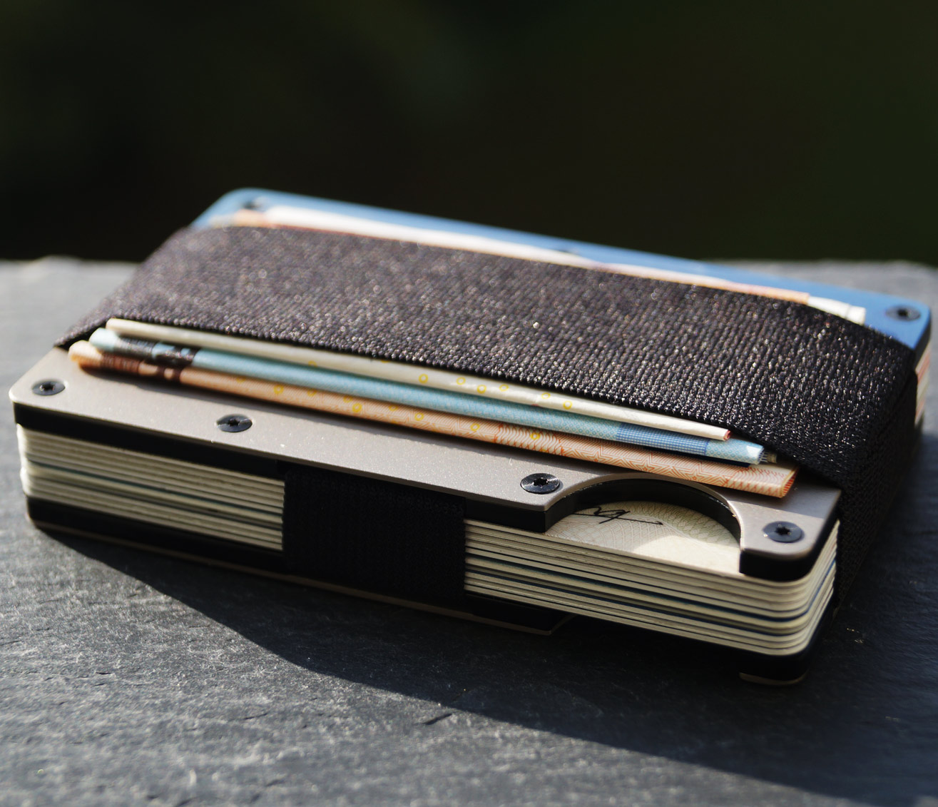 the ridge titan slim wallet