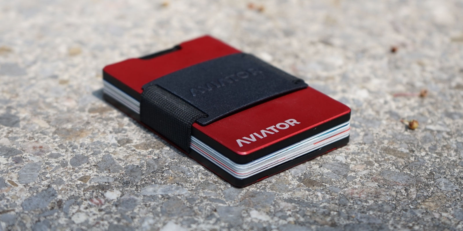 Aviator Wallet Imola Red