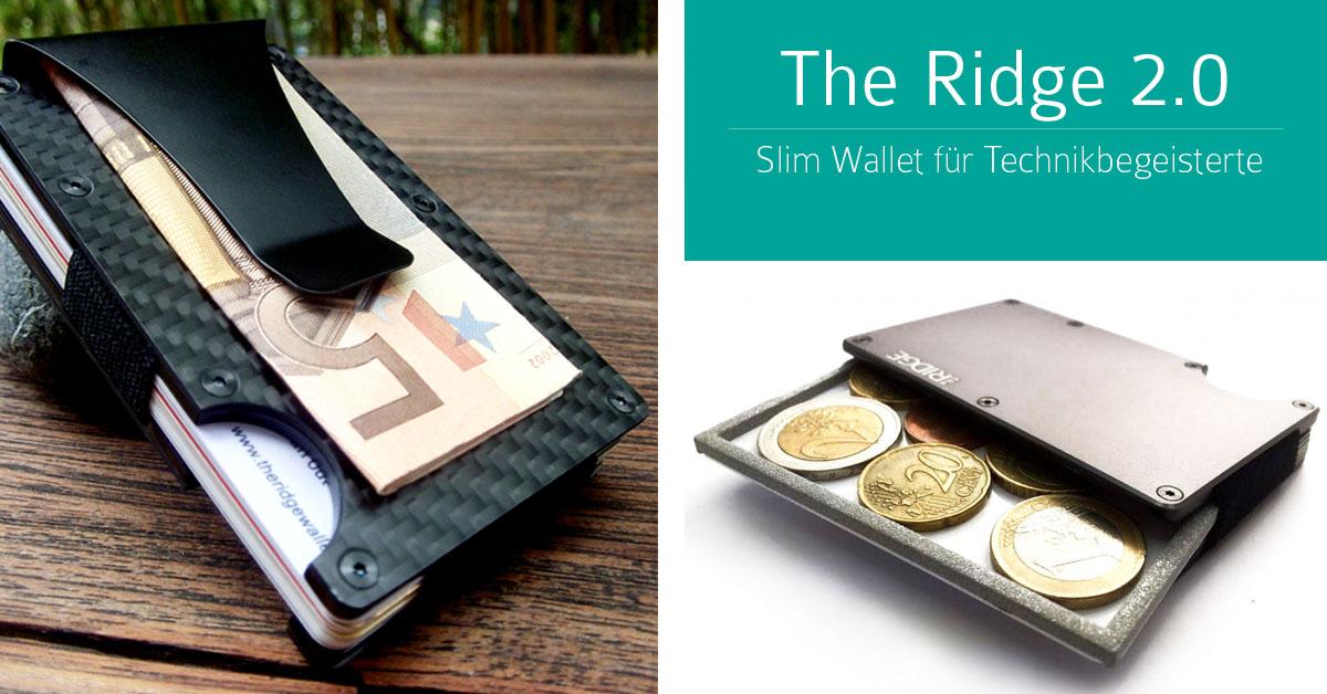 Starterstore Blog Slim Wallets 2016 Die Kleinsten Geldbörsen Im Test